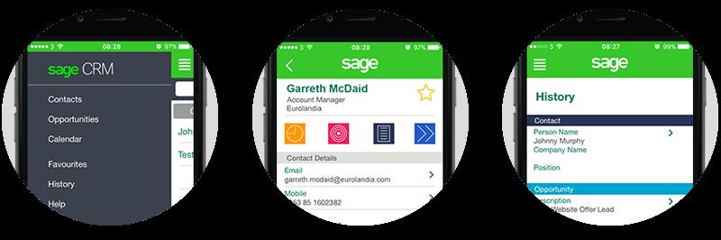 Sage CRM Mobile