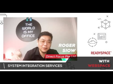 Roger provide complete his System Integration services with ReadySpace